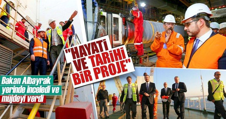 Küresel enerjinin yeni hattı TANAP hızla ilerliyor