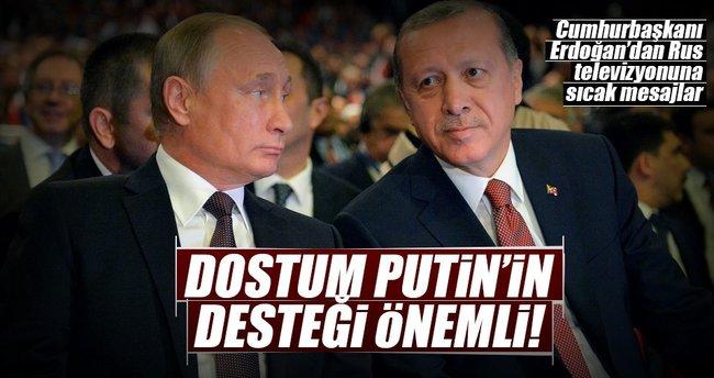 Dostum Putin'in desteği önemli