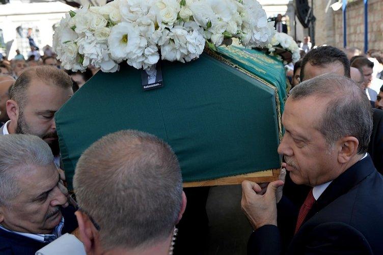 Cumhurbaşkanı İstanbul'da cenazeye katıldı