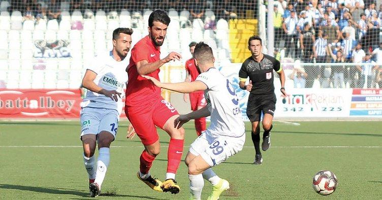 TFF 1. Lig | Keçiörengücü: 1 - Büyükşehir Belediye Erzurumspor: 0
