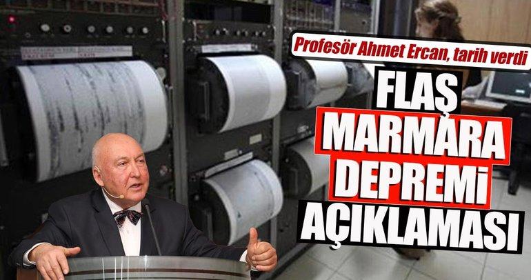 Prof. Dr. Ercan'ın deprem yorumu: 2045'ten önce...