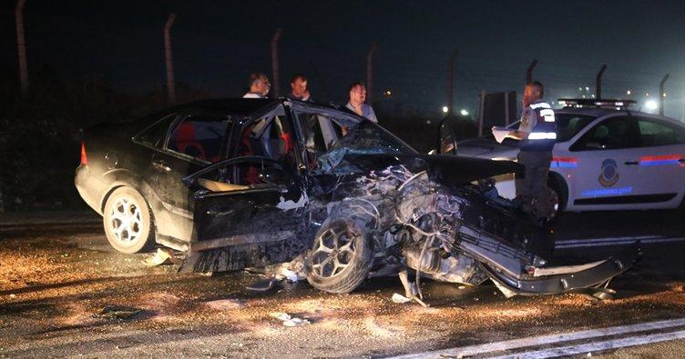 Kırklareli'de feci kaza: 2 ölü, 8 yaralı