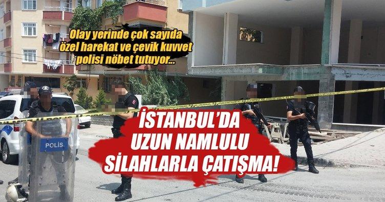 İstanbul'da silahlı çatışma: 3 yaralı