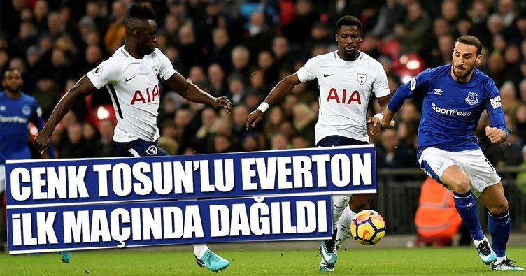 Cenk Tosun'lu Everton ilk maçında dağıldı