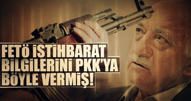 TSK'nın terör istihbaratlarını örgüte aktarmış