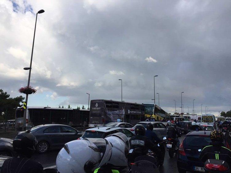 İstanbul'da metrobüs kazası