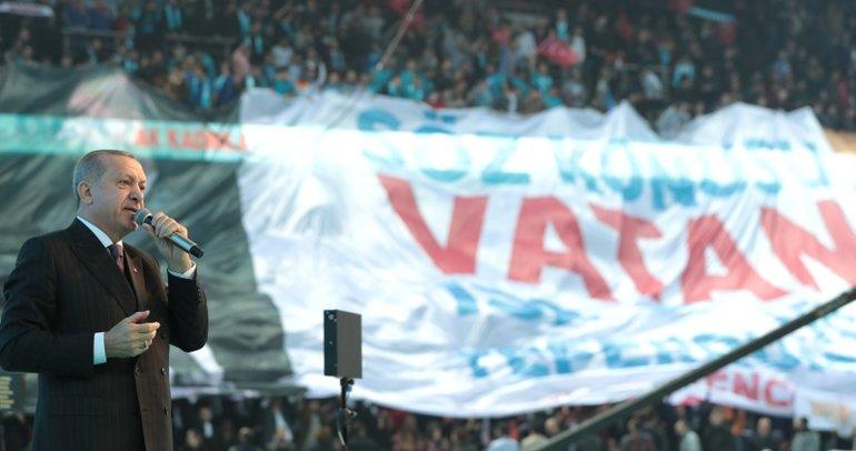 Başkan Erdoğan AK Parti'nin manifestosunu açıkladı