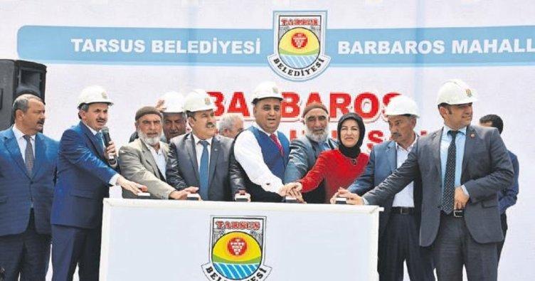 Tarsus'a yeni bir cami ve halı saha
