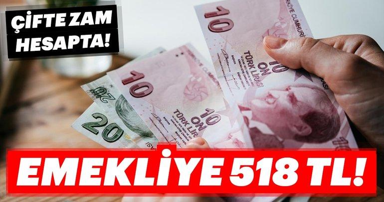 Emekliye 518 TL! - En yüksek ve en düşük emekli maaşı ne kadar oldu? Emekliye müjde son haber