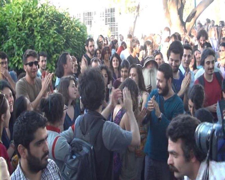 Taksim Gezi Parkı için nöbet tuttular