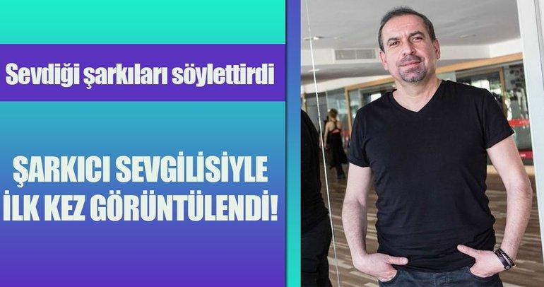 Mustafa Erdoğan şarkıcı sevgilisiyle ilk kez görüntülendi!