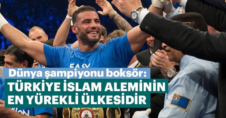 Türkiye, İslam aleminin en yürekli ülkesidir