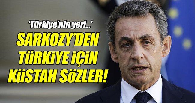 Sarkozy'den küstah açıklama!