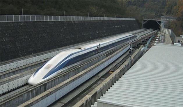 Dünyanın en hızlı treni!