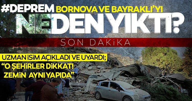 Son dakika haberi... Deprem neden İzmir'de yıkıma neden oldu? Prof. Bekler'den o illere uyarı
