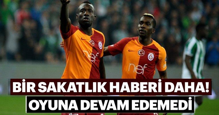 Galatasaray'a bir sakatlık şoku daha! Yıldız oyuncu oyuna devam edemedi