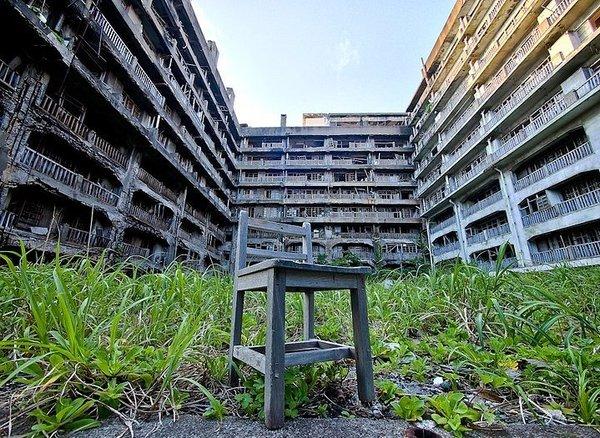 Japonya'nın hayalet şehri: Hashima adası