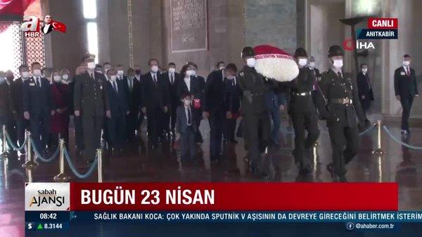 Milli Eğitim Bakanı Ziya Selçuk, Anıtkabir'i ziyaret etti | Video