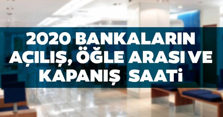 Banka çalışma mesai saatleri 2020: Bankalar kaçta açılıyor, kaçta kapanıyor? Öğle arası ile açılış ve kapanış saatleri