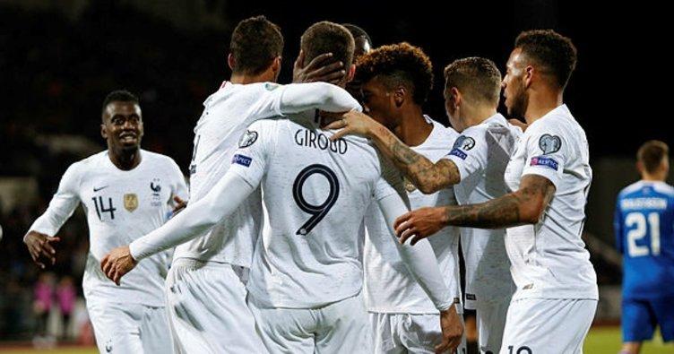 İzlanda 0 - 1 Fransa - MAÇ SONUCU