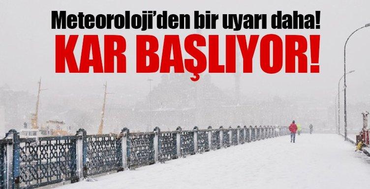Meteoroloji Den Son Dakika Hava Durumu Bilgisi Istanbul