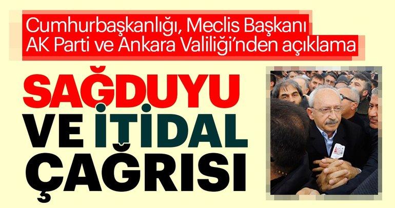 Kılıçdaroğlu'na saldırı sonrası son dakika haberleri üst üste geliyor! Valilik açıklaması...