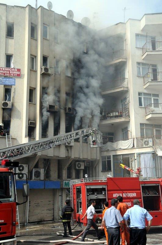 Antalya'da yangın