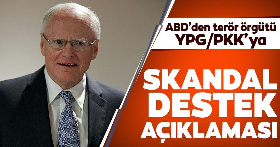 Son dakika: ABD'den, YPG/PKK'ya skandal destek açıklaması