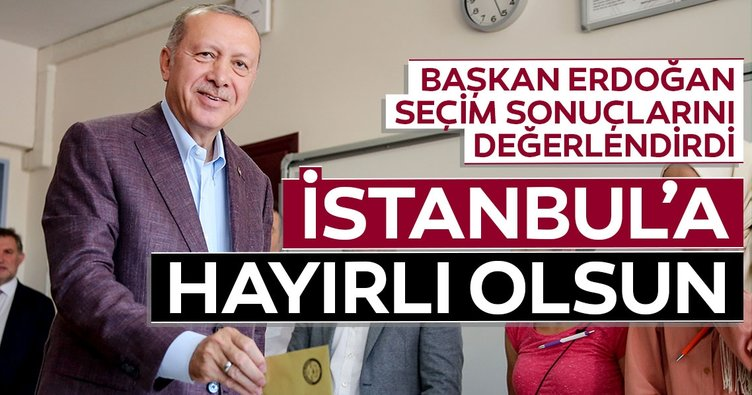 İstanbul'a hayırlı olsun