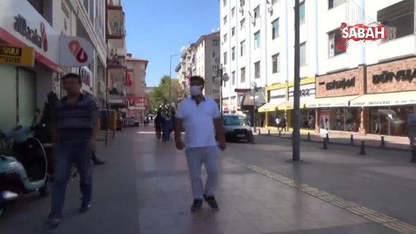 Vakaların arttığı Çankırı'da maske var, sosyal mesafe yok | Video