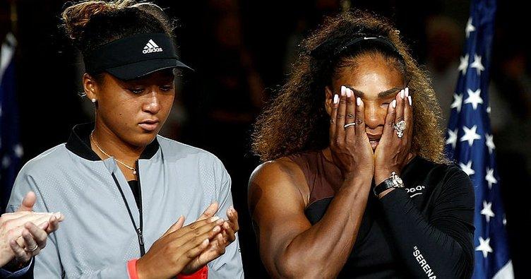 İşte Serena Williams'ı ağlatan Naomi Osaka