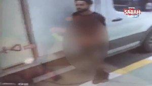 İstanbul'da sokak ortasında pantolonunu indiren teşhirci sapık kameraya yakalandı