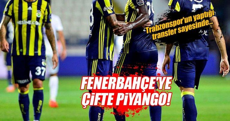 Fenerbahçe'ye çifte piyango! Trabzonspor...