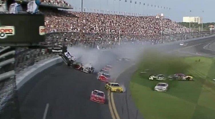 Daytona'da kaza dehşeti: