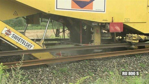 Tren rayları nasıl döşenir?