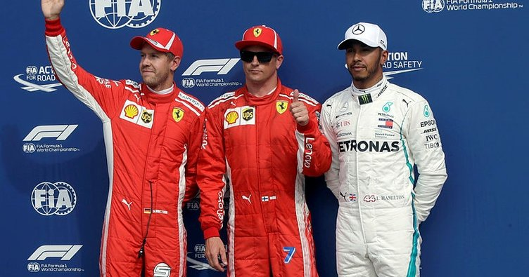 Formula 1 İtalya GP'sinde pole pozisyonu Kimi Raikkonen'nin