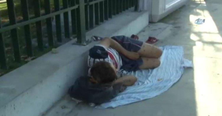 Sokak çocuğundan yürek yakan sözler
