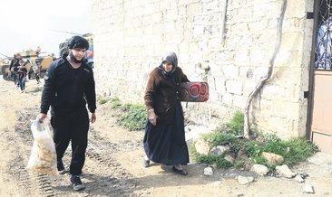 Afrin'de eve dönüş sevinci