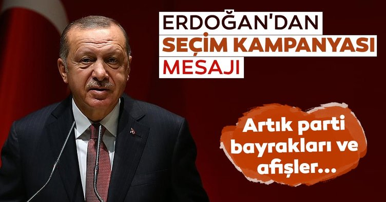 AK Parti'den seçim kampanyası mesajı: Artık bayrak ve afişler...