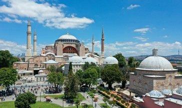 """Ayasofya Camii Mesajı: """"Erdoğan'ı tebrik ediyoruz, dünya Müslümanları yanınızda"""""""