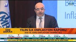 Merkez Bankası Başkanı Murat Uysal, yılın ilk enflasyon raporunu açıkladı