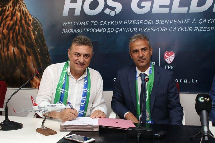 Rizespor'da İsmail Kartal'ın imza töreninde flaş Vedat Muriç açıklaması