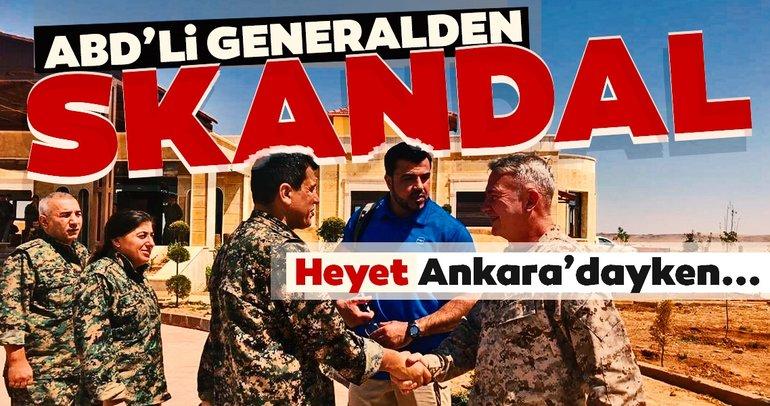 Heyet Ankara'dayken ABD'li generalden büyük skandal!