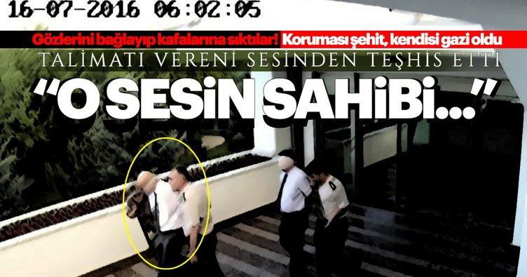 Darbe gecesi vurulan TEM Daire Başkanı infazı anlattı