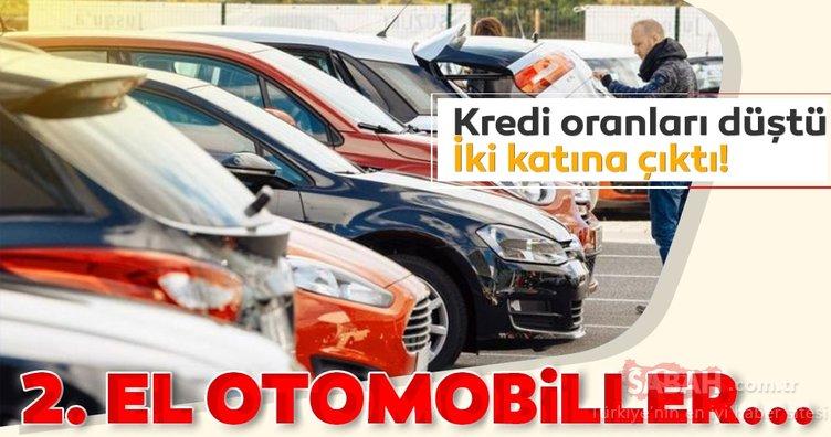 Kredi faiz oranları düştü ikinci el otomobil satışları arttı!