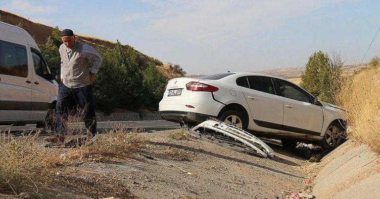 Adıyaman'da trafik kazası: 3'ü çocuk 5 yaralı!