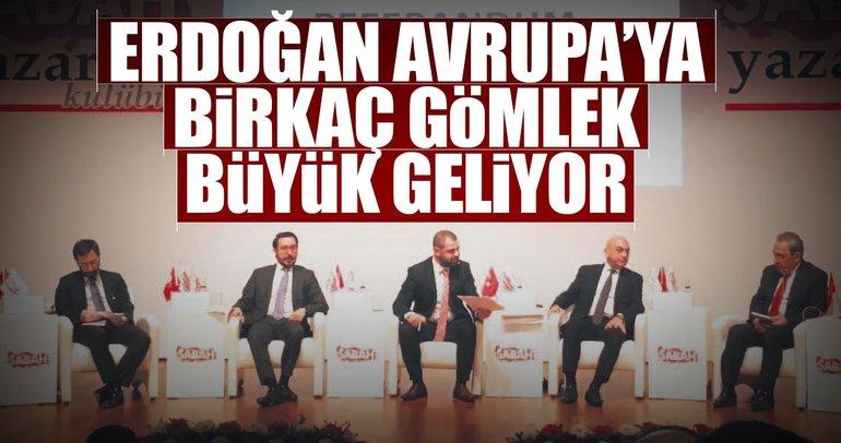 Erdoğan Avrupa'ya birkaç gömlek büyük geliyor