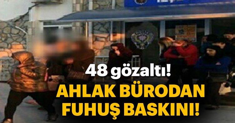 Didim'de 12 adrese eş zamanlı fuhuş baskını: 48 gözaltı