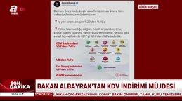 Son dakika: Bakan Albayrak'tan bayram öncesi esnafa ve vatandaşa KDV müjdesi! | Video