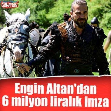 Engin Altan Düzyatan'dan 6 milyon liralık imza